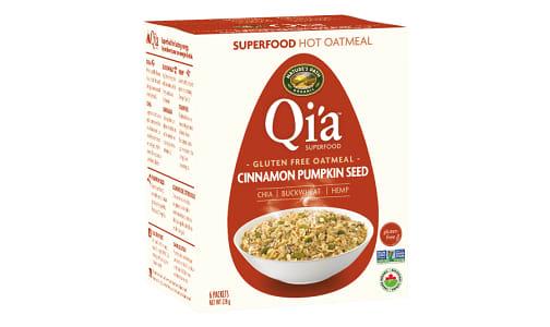 Organic Qi'a Hot Cereal - Cinnamon Pumpkin Seed- Code#: CE1272