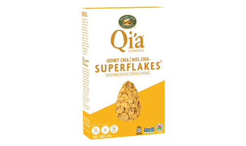 Organic Qi'a Honey Chia Superflakes- Code#: CE1277