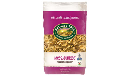 Organic Mesa Sunrise Cereal, Eco-Pac- Code#: CE145