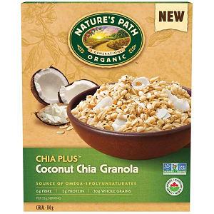 Organic Chia Coconut Granola- Code#: CE146