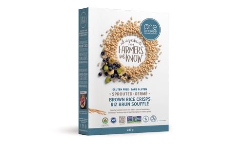 Organic Sprouted Brown Rice Crisps- Code#: CE1500