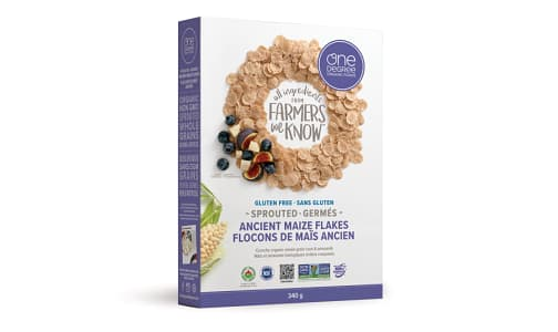 Organic Sprouted Ancient Maize Flakes- Code#: CE1502