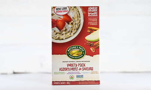 Organic Instant Oatmeal Variety Pack- Code#: CE210