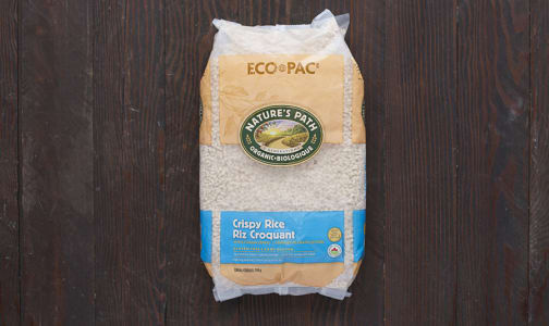 Organic Crispy Rice Cereal Eco-Pac- Code#: CE225