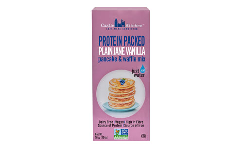 Protein Packed Plain Jane Vanilla Pancake & Waffle Mix- Code#: CE251