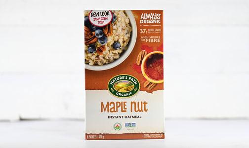 Organic FREE GIFT - Maple Nut Oatmeal- Code#: FRECE3214