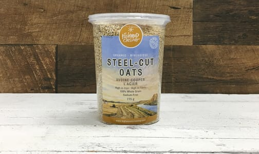 Organic Oats, Steel Cut- Code#: CE3236