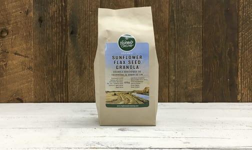 Organic Granola, Sunflower Flax Seed Small- Code#: CE3240