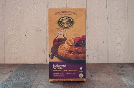 Buckwheat Wildberry Frozen Waffles (Frozen)- Code#: CE332