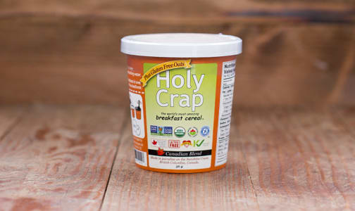Organic Holy Crap Breakfast Cereal Canadian Blend Single Serve Cup- Code#: CE425