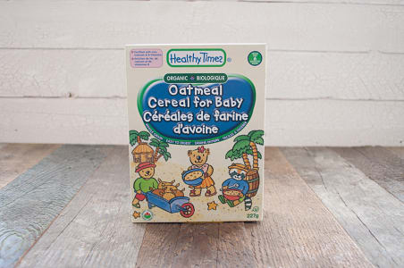 Organic Oatmeal Baby Cereal- Code#: CE510