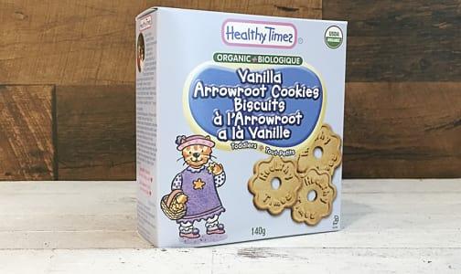 Organic Vanilla Arrowroot Baby Cookies- Code#: CE530