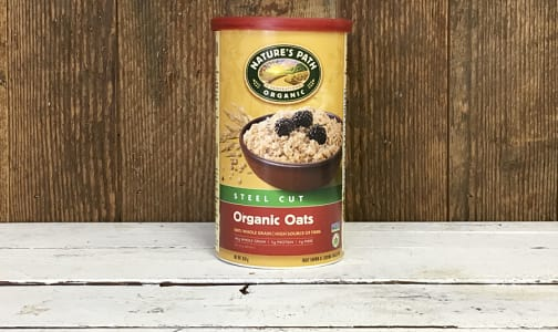 Organic Steel Cut Oats- Code#: CE651