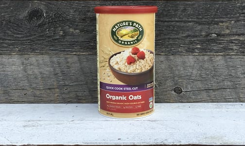 Organic Quick Cooking Steel Cut Oats (Irish Style)- Code#: CE652