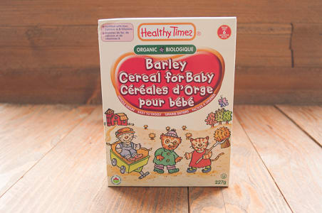 Organic Baby Cereal, Barley- Code#: CE7200