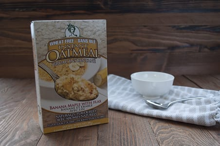 Banana Maple Instant Oatmeal- Code#: CE7206