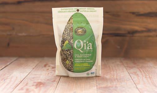Organic Qi'a Superfood - Apple Cinnamon - Chia, Buckwheat & Hemp Cereal- Code#: CE901