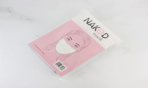 Solid Black Face Mask- Code#: CL0022