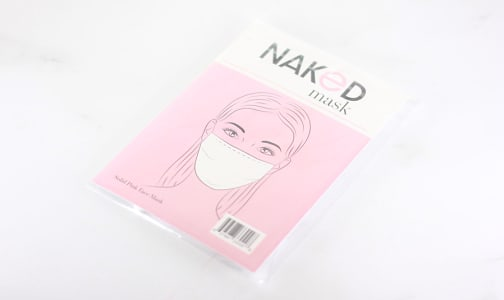 Solid Pink Face Mask- Code#: CL0023