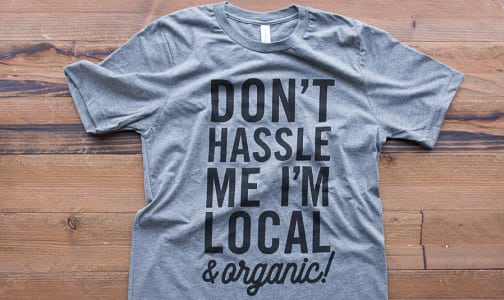 Don't Hassle Me  T-Shirt- Code#: CL009