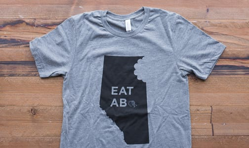 Eat Alberta  T-Shirt- Code#: CL107