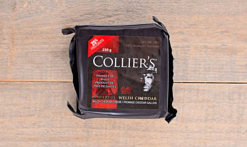 Collier's Powerful Welsh Cheddar- Code#: DA0011