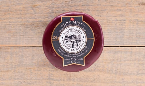 Cheddar Cheese with Port & Brandy- Code#: DA0012