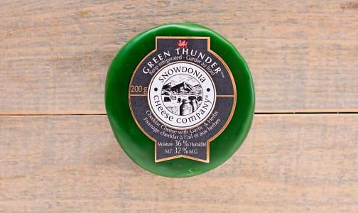 Cheddar Cheese with Garlic & Herbs- Code#: DA0013