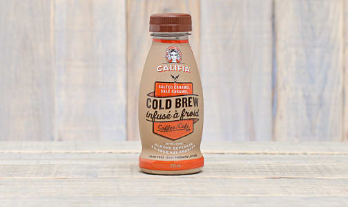 Salted Caramel Cold Brew Coffee with Almond Milk- Code#: DA0051