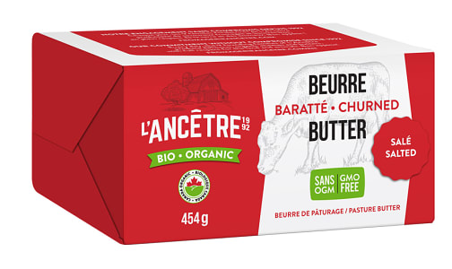 Organic Butter, Salted- Code#: DA0061