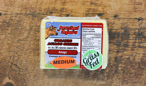 Organic Asiago, Medium- Code#: DA0077