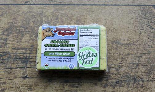 Organic Organic Gouda with Mixed Herbs- Code#: DA0081