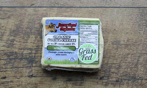 Organic Organic Gouda with Cumin- Code#: DA0084