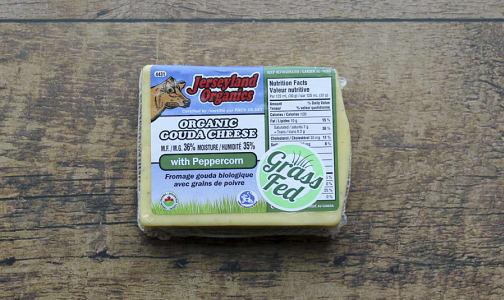 Organic Organic Gouda with Peppercorn- Code#: DA0085