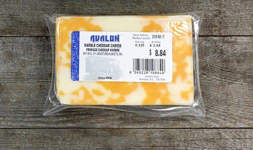 Marbled Cheddar Cheese- Code#: DA0117