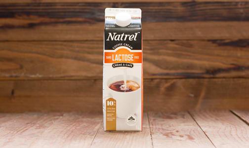 Natrel Lactose Free 10% Coffee Cream- Code#: DA0125