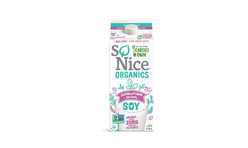 Unsweetened Fresh Soy Milk- Code#: DA024