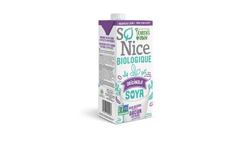Organic Original Soy Milk- Code#: DA026