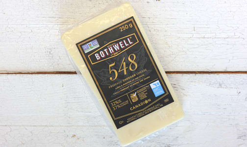 548 Extra Old White Cheddar- Code#: DA0273