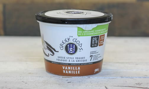 Organic Vanilla Greek Yogurt- Code#: DA0276