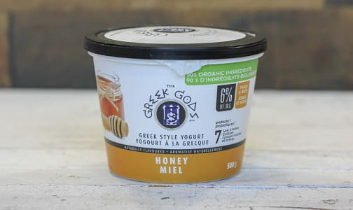Organic Honey Greek Yogurt- Code#: DA0277