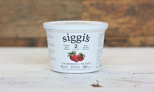 Icelandic Skyr - Strawberry 2%- Code#: DA0299