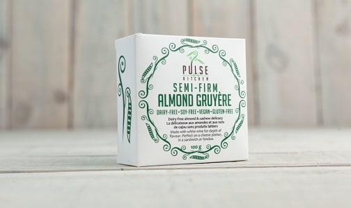 Semi-Firm Almond Gruyere- Code#: DA0318