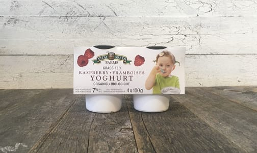 Organic Grass-Fed 7% Yogurt - Raspberry- Code#: DA0331