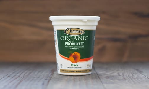 Organic Peach Yogurt - 2.9% MF- Code#: DA0360