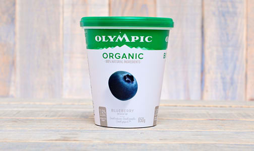 Organic Blueberry Yogurt - 2.9% M.F.- Code#: DA0361