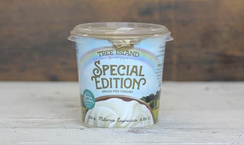 Special Edition Non-Homogenized, Grass Fed Greek Yogurt - 6.5% MF - Rotating Flavour- Code#: DA0385
