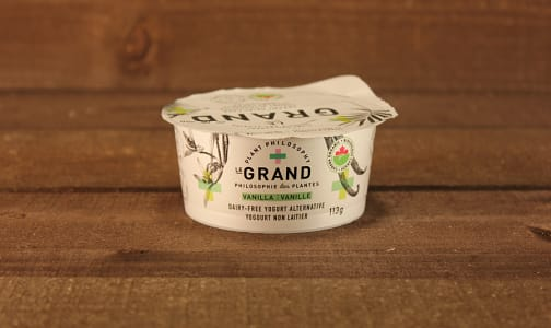 Organic Vegan Yogurt - Vanilla- Code#: DA0429