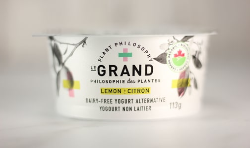 Organic Vegan Yogurt - Lemon- Code#: DA0431