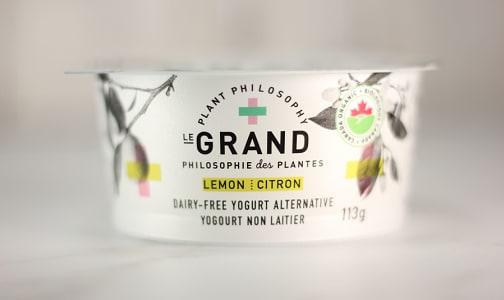 Organic Vegan Yogurt - Lemon- Code#: DA0431